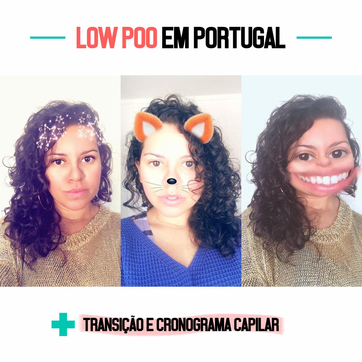 Low Poo em Portugal + Transição e Cronograma Capilar